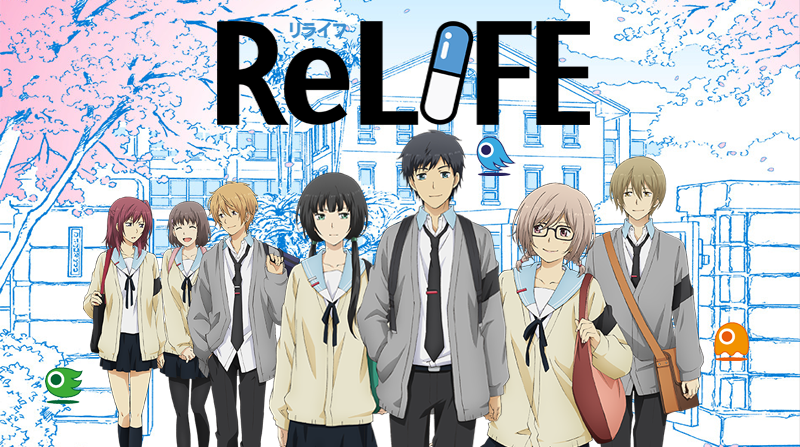 Recenzie anime – ReLIFE